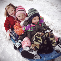 Free Sledding In And Around Charlotte