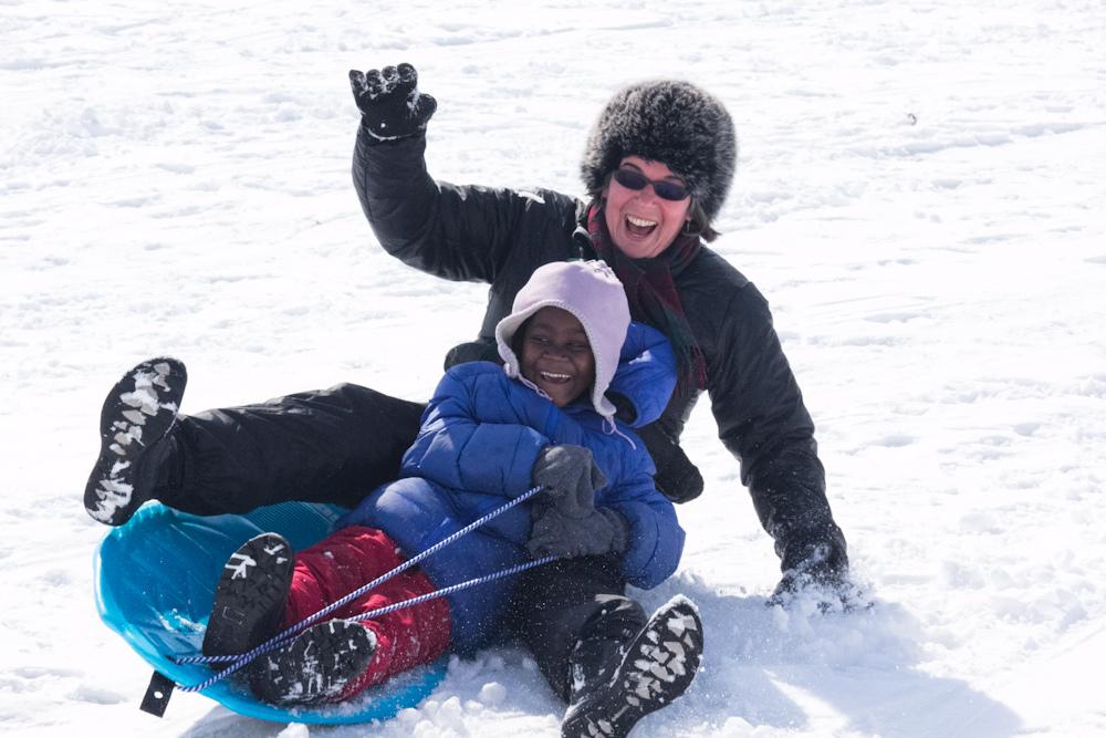 sledding charlotte